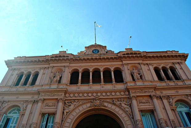 Visita guiada Casa Rosada Buenos Aires Argentina